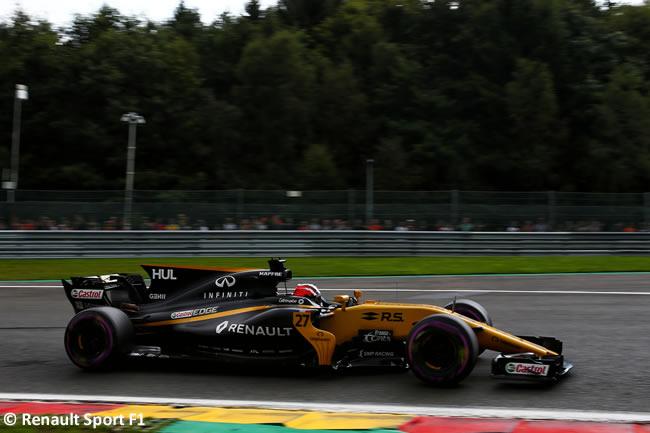 Nico Hulkenberg - Renault Sport - GP Bélgica 2017 - Calificación