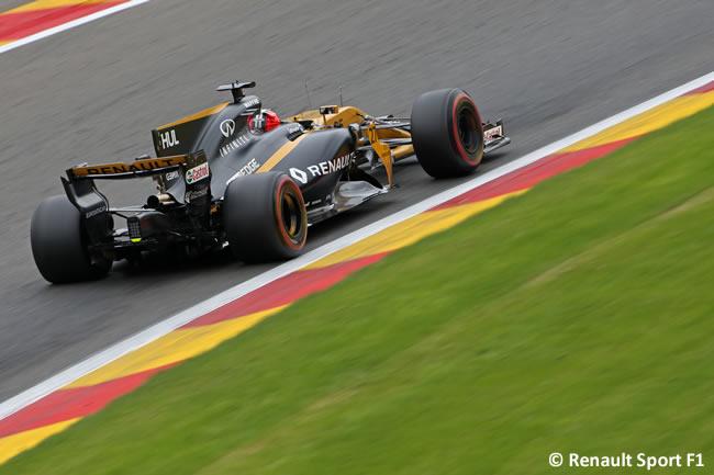 Nico Hulkenberg - Renault - Entrenamientos - GP Bélgica 2017