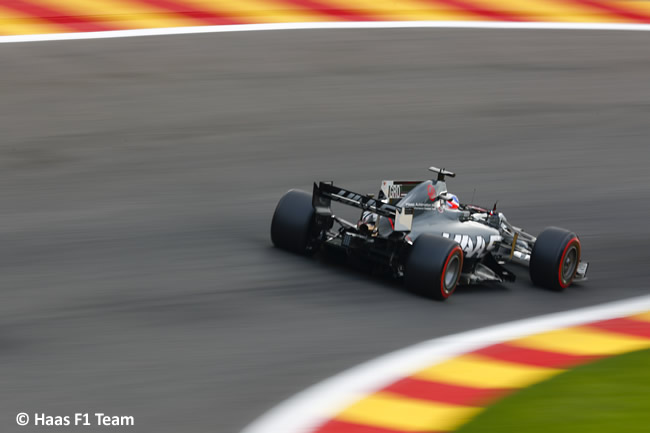 Romain Grosjean - Haas - GP Bélgica 2017 - Calificación