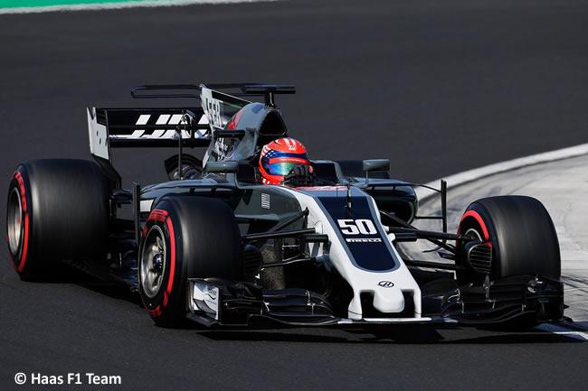 Santino Ferrucci - Haas - Test temporada Hungría - Día 2