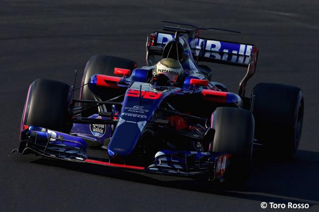 Sean Gelael - Toro Rosso - Test temporada Hungría - Día 1