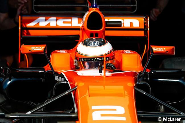 Stoffel Vandoorne - McLaren - Test temporada Hungría - Día 1