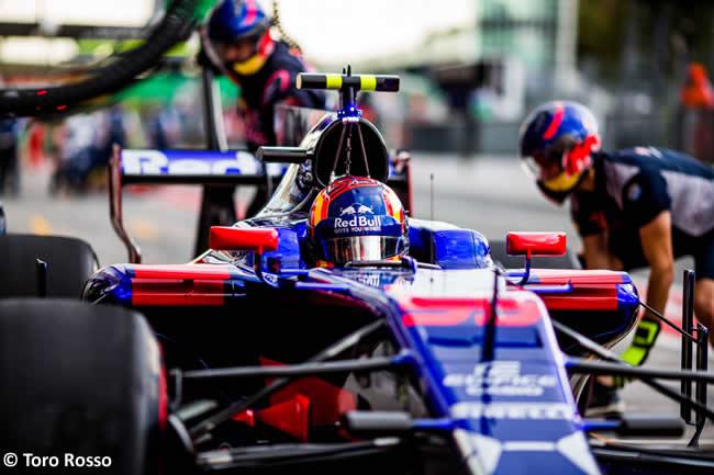 Carlos Sainz - Toro Rosso - GP Italia 2017 - Entrenamientos