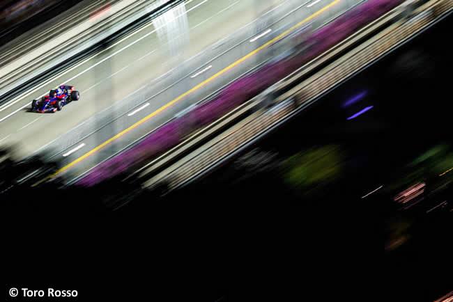 Carlos Sainz - Scuderia Toro Rosso - Calificación GP Singapur 2017