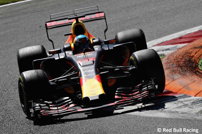 Daniel Ricciardo - Red Bull Racing - Carrera - GP Italia 2017