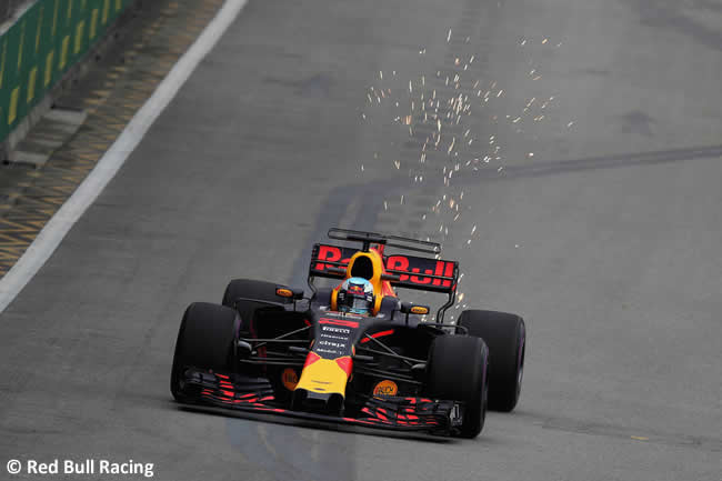 Daniel Ricciardo - Red Bull Racing - GP Singapur 2017 - Entrenamientos