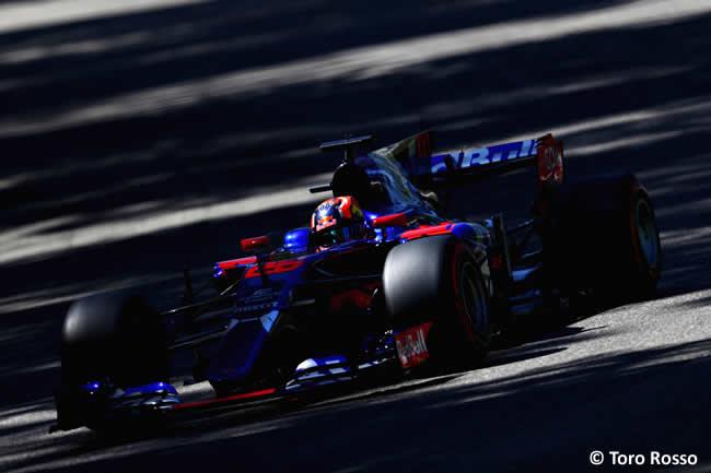 Daniil Kvyat - Toro Rosso - Carrera - GP Italia 2017