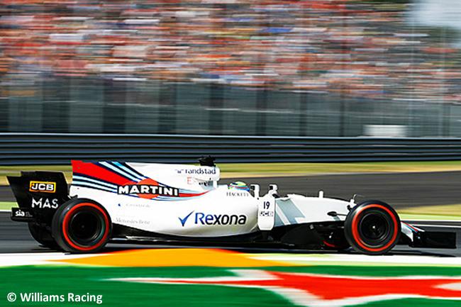 Felipe Massa - Williams - GP Italia 2017 - Entrenamientos