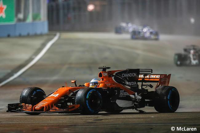 Fernando Alonso - McLaren - GP Singapur 2017