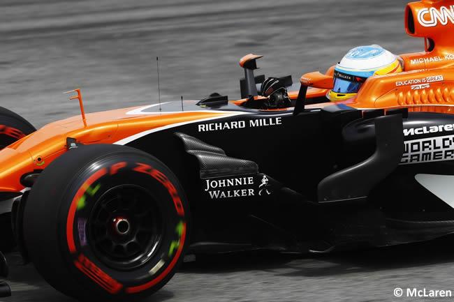 Fernando Alonso - McLaren - GP Malasia 2017 - Entrenamientos