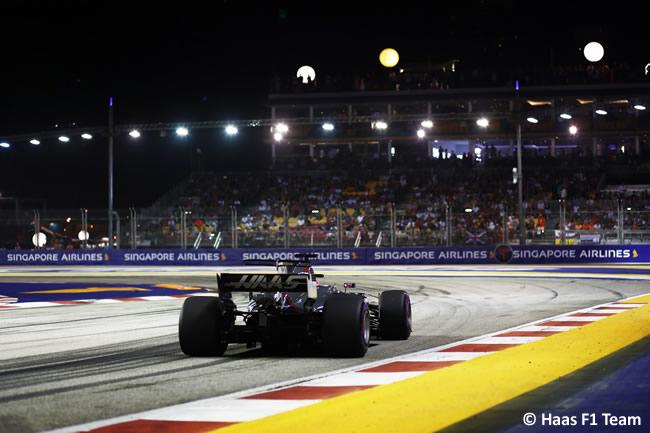 Haas F1 - Calificación GP Singapur 2017