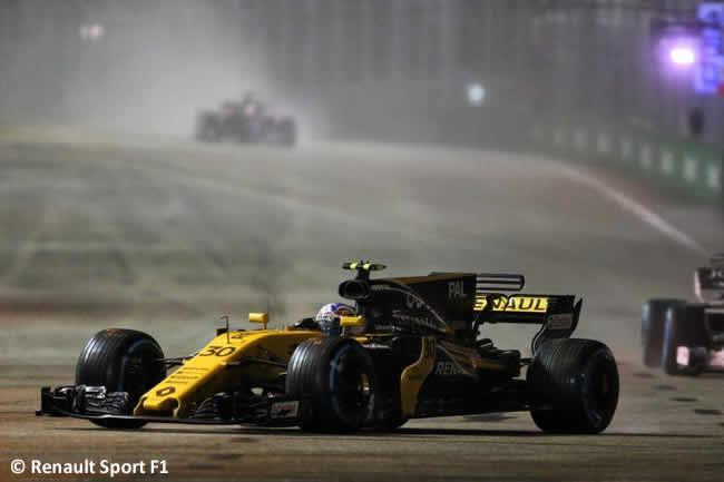 Jolyon Palmer - Renault Sport - Carrera - GP Singapur 2017