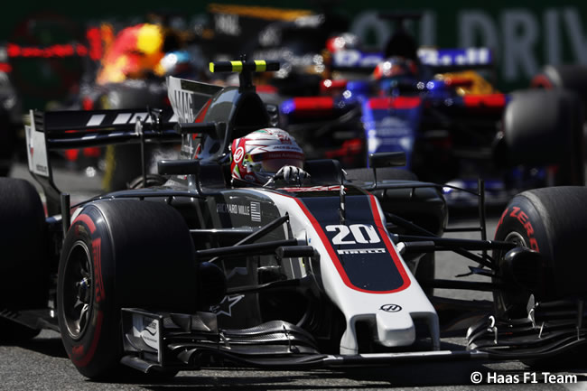 Kevin Magnussen - Haas - Carrera - GP Italia 2017