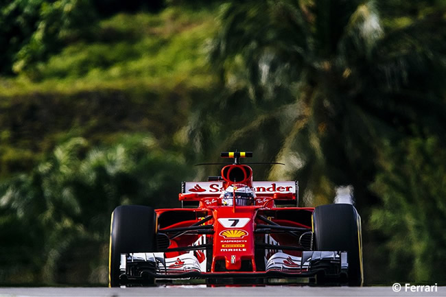 Kimi Raikkonen - Scuderia Ferrari - Calificación GP Malasia 2017
