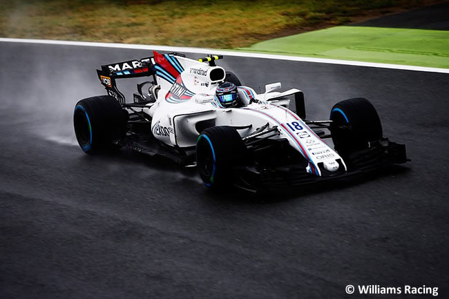 Lance Stroll - Williams - GP Italia 2017 - Calificación