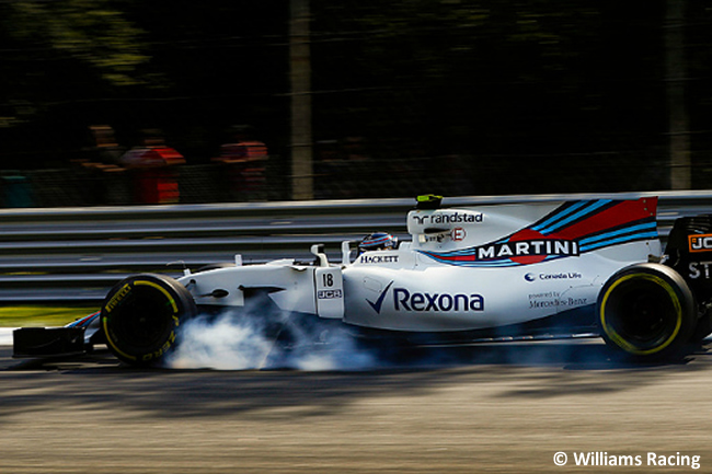 Lance Stroll - Williams - Carrera - GP Italia 2017