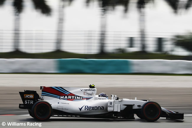 Lance Stroll - Williams - GP Malasia 2017 - Entrenamientos