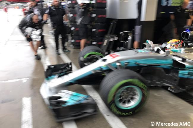 Lewis Hamilton - Mercedes AMG - GP Italia 2017 - Calificación