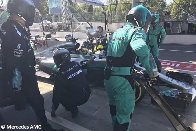 Lewis Hamilton - Mercedes AMG - Carrera - GP Italia 2017