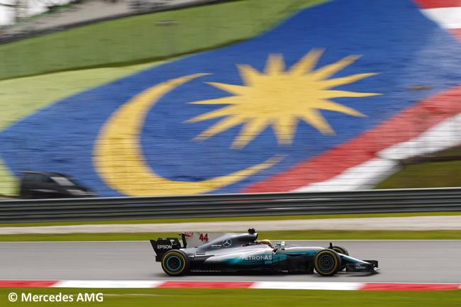 Lewis Hamilton - Mercedes AMG - Calificación GP Malasia 2017