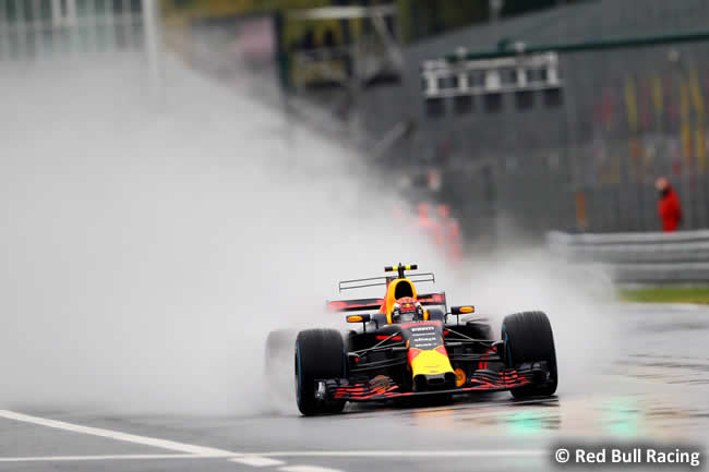 Max Verstappen - Red Bull Racing - GP Italia 2017 - Calificación