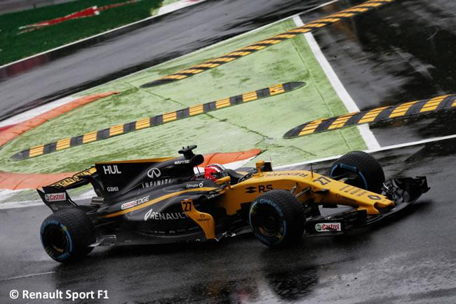 Nico Hulkenberg - Renault Sport - GP Italia 2017 - Calificación