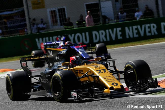 Nico Hulkenberg - Renault Sport - Carrera - GP Italia 2017