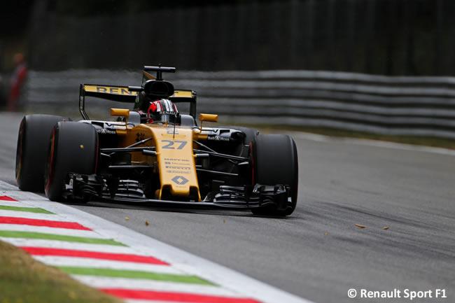 Nico Hulkenberg - Renault Sport - GP Italia 2017 - Entrenamientos