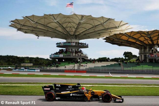 Nico Hulkenberg - Renault - Calificación GP Malasia 2017