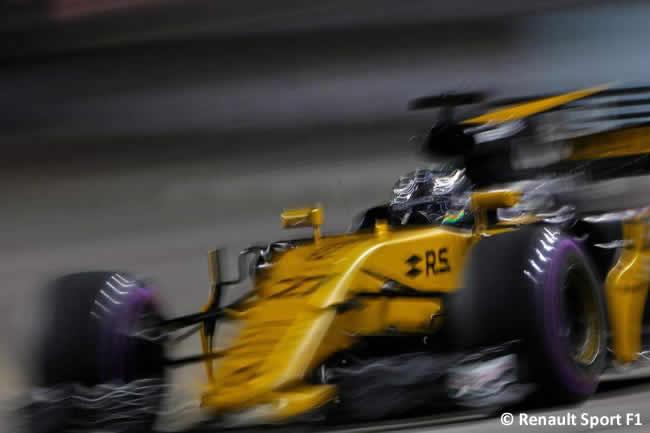 Nico Hulkenberg - Renault - Calificación GP Singapur 2017