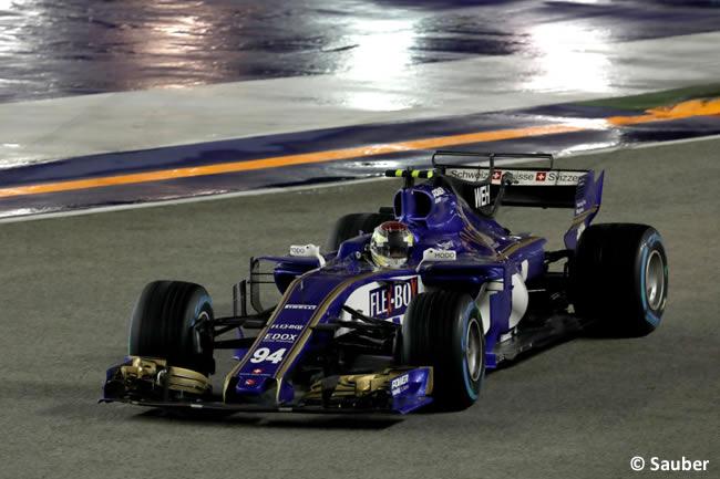 Pascal Wehrlein - Sauber - Carrera - GP Singapur 2017