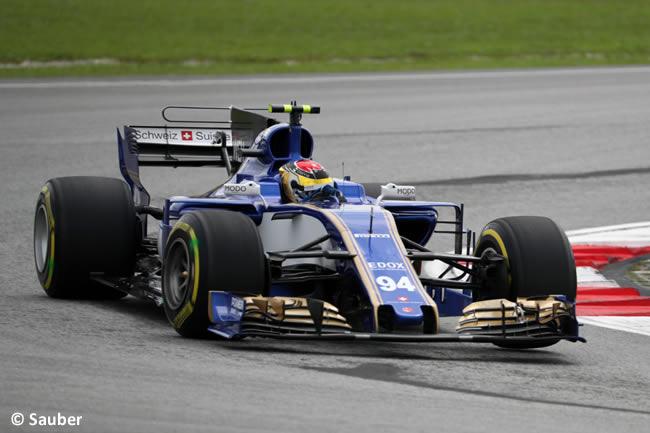 Pascal Wehrlein - Sauber - GP Malasia 2017 - Entrenamientos