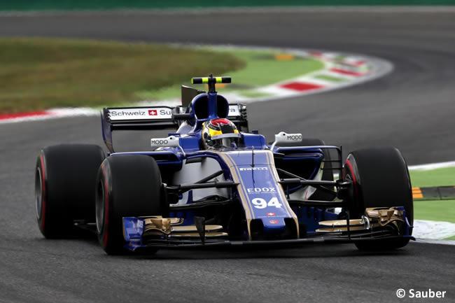 Pascal Wehrlein - Sauber - GP Italia 2017 - Entrenamientos
