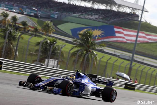 Pascal Wehrlein - Sauber - Calificación GP Malasia 2017