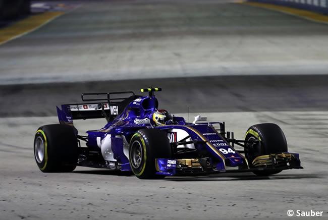 Pascal Wehrlein - Sauber - GP Singapur 2017 - Entrenamientos