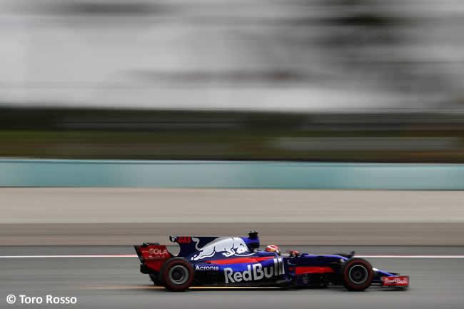 Pierre Gasly - Toro Rosso - GP Malasia 2017 - Entrenamientos
