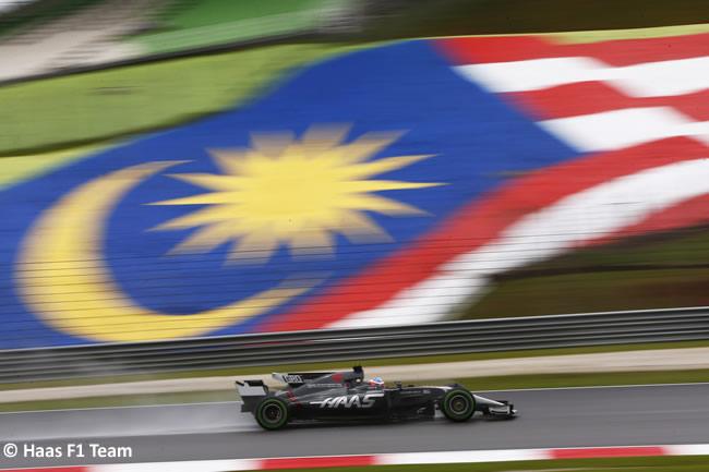 Romain Grosjean - Haas - GP Malasia 2017 - Entrenamientos