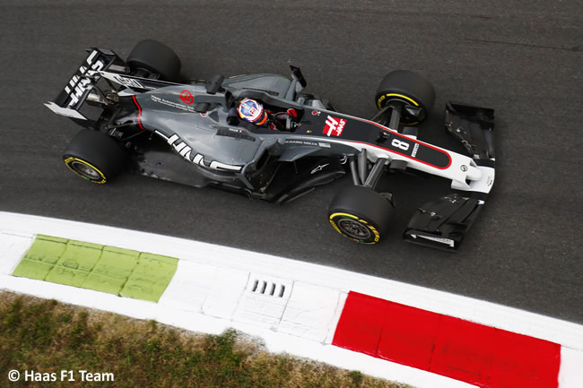 Romain Grosjean - Haas - GP Italia 2017 - Entrenamientos