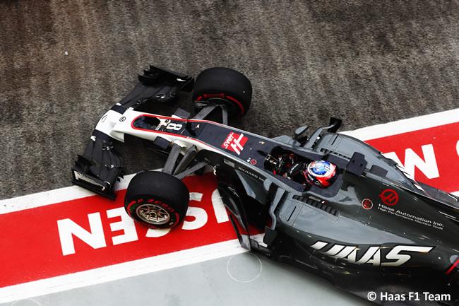 Romain Grosjean - Haas F1 - GP Singapur 2017 - Entrenamientos