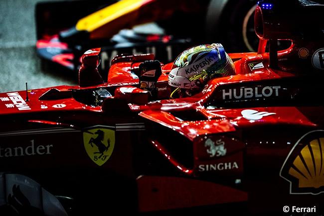 Sebastian Vettel - Scuderia Ferrari - Pole - GP Singapur 2017 - Calificación