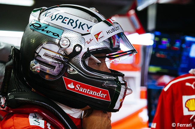 Sebastian Vettel - Scuderia Ferrari - Carrera - GP Italia 2017