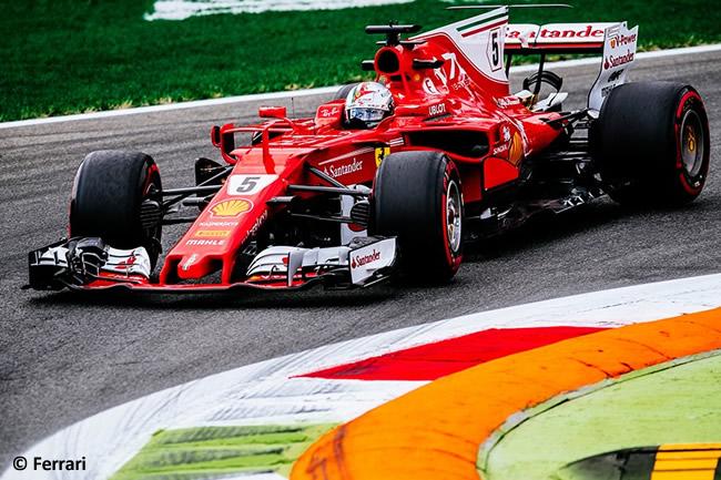 Sebastian Vettel - Scuderia Ferrari - GP Italia 2017 - Entrenamientos