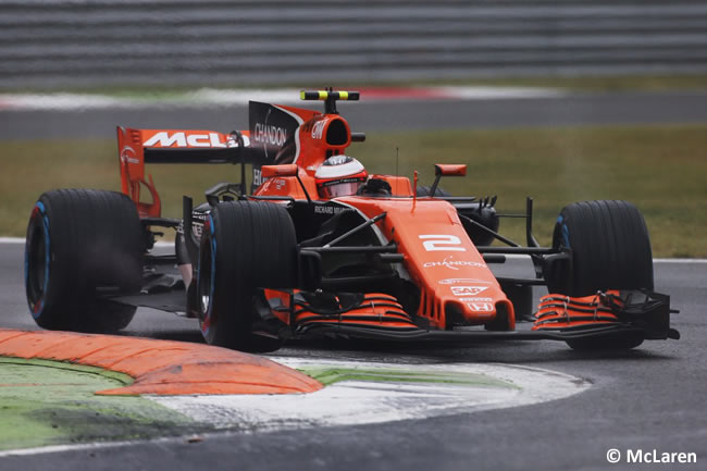 Stoffel Vandoorne - McLaren - GP Italia 2017 - Calificación