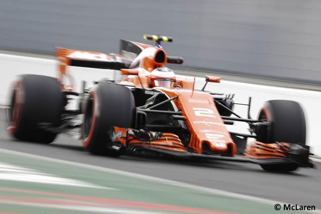 Stoffel Vandoorne - McLaren - GP Italia 2017 - Entrenamientos