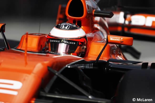 Stoffel Vandoorne - McLaren - Calificación GP Malasia 2017