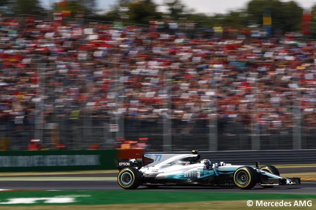 Valtteri Bottas - Mercedes AMG - GP Italia 2017 - Entrenamientos