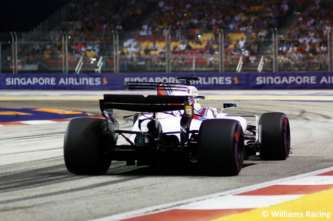 Williams - Calificación GP Singapur 2017