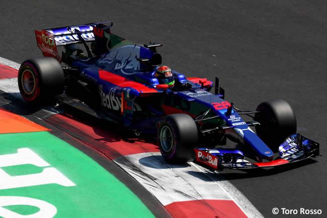 Brendon Hartley - Toro Rosso - GP México 2017