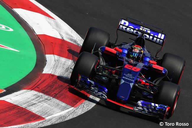 Brendon Hartley - Toro Rosso - GP México 2017 - AHR