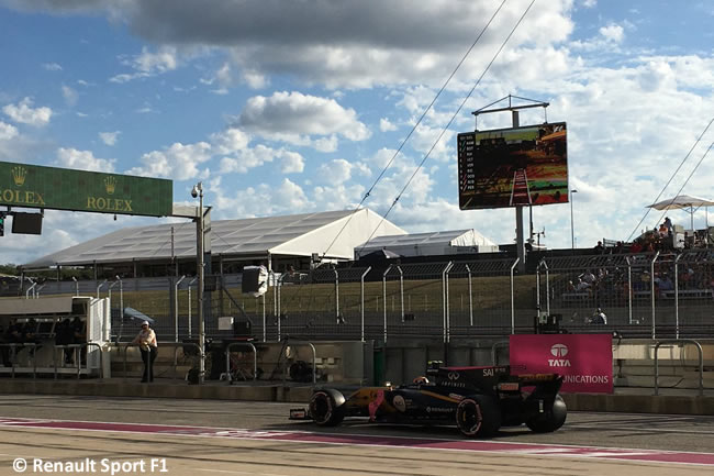 Carlos Sainz - Renault - Calificación- GP Estados Unidos 2017